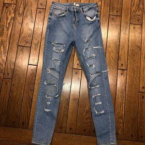 Topshop Motto Jamie Jeans